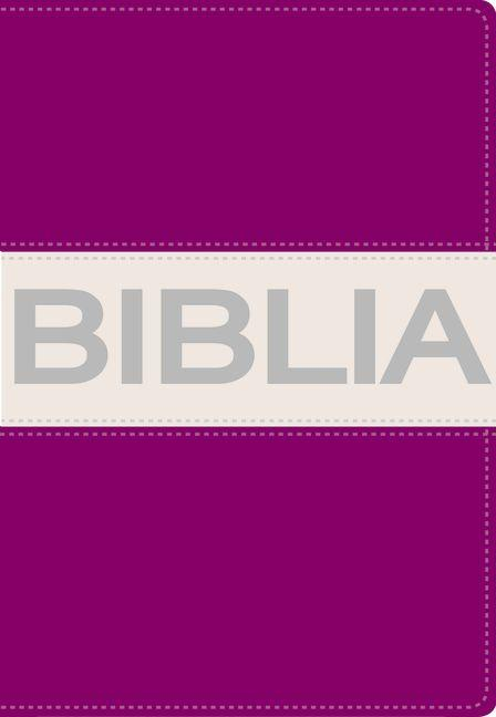Biblia Ultrafina Compacta Collección Contempo Lila / Gris
