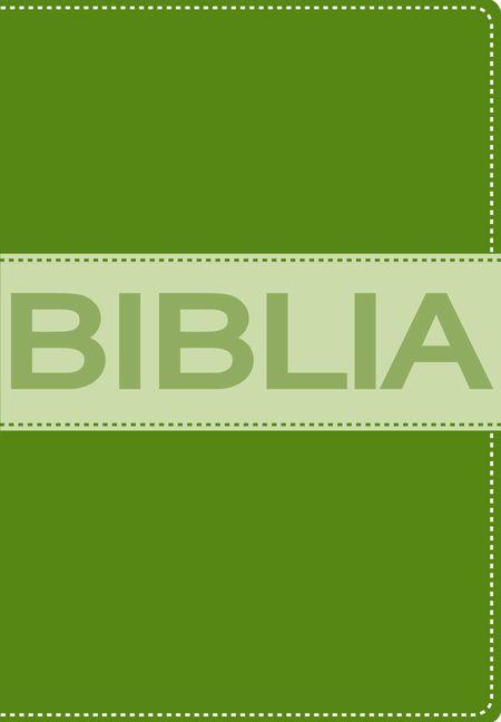 Biblia Ultrafina Compacta Collección Contempo Verde