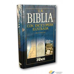 Biblia con Enciclopedia Ilustrada tapa dura