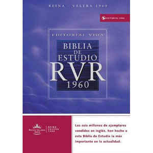 Biblia de Estudio RVR 1960 piel especial negro