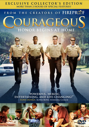 DVD Courageous - Exclusive collector's edition - valientes