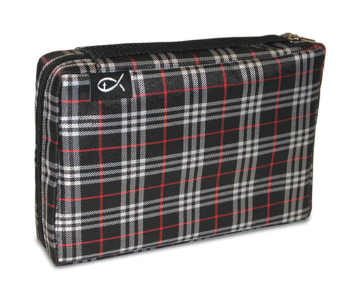 Forro Plaid Large Black