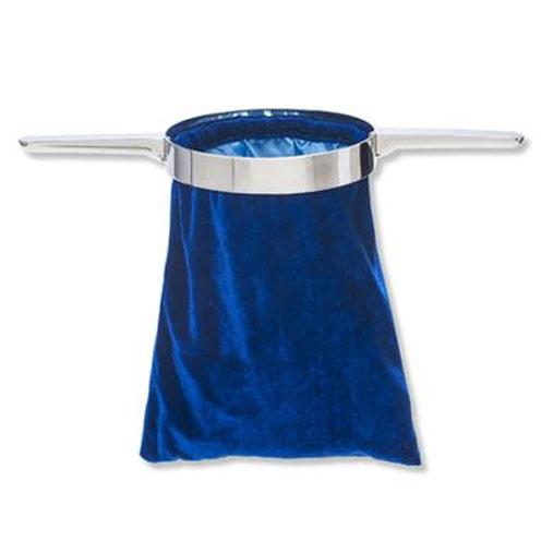 Bolsa para ofrenda gamuza azul